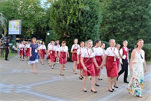 Всемирные хоровые игры. Хор из Москвы