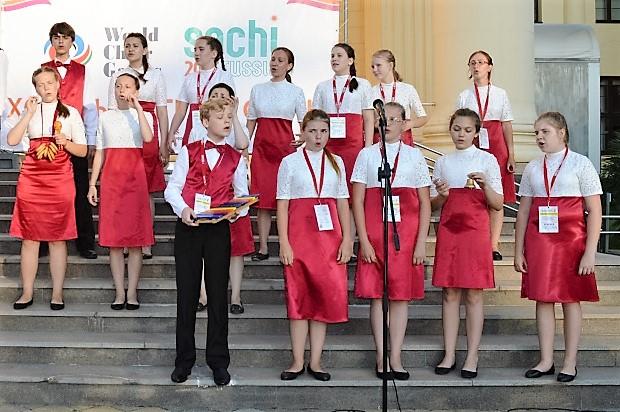 Всемирные хоровые игры. Хор из Москвы2