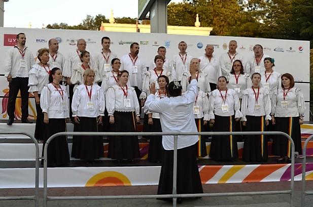 Всемирные хоровые игры. Хор из Румынии