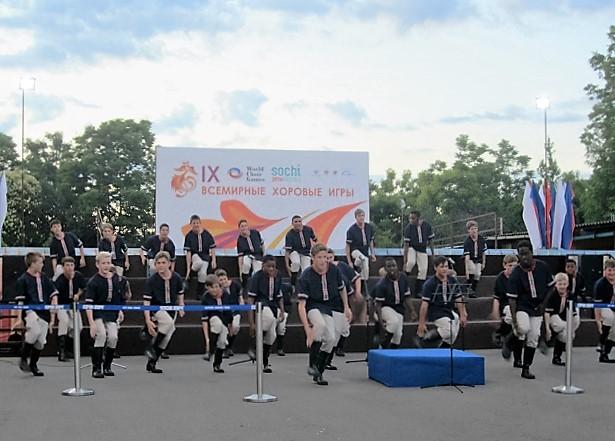 Всемирные хоровые игры. Хор из Южной Африки2