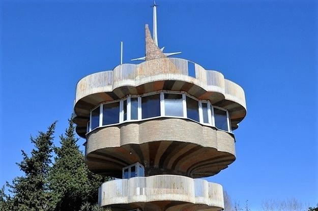 Видовая башня на горе Батарейка. После реставрации 2012