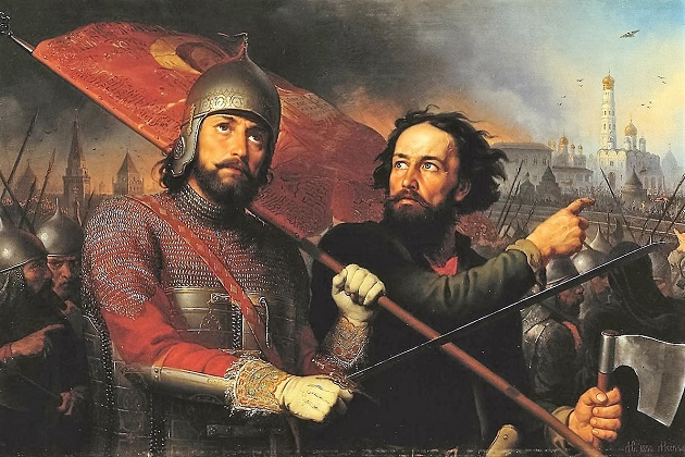 4 ноября —Праздник Казанской иконы Божией Матери. Минин и Пожарский