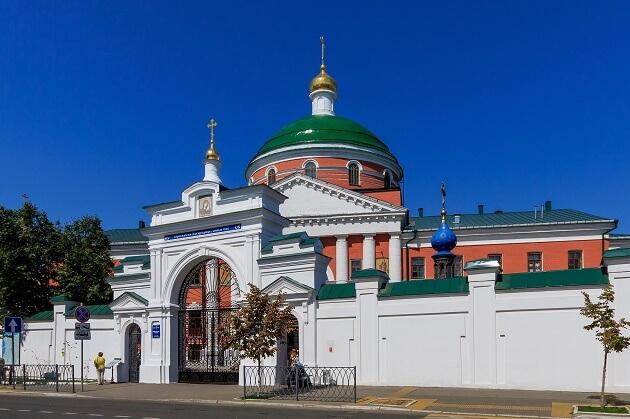 Богородицкий девичий монастырь