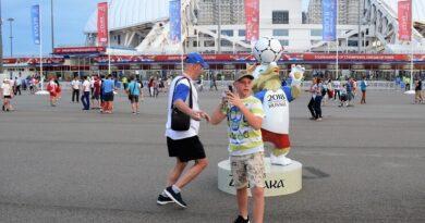 Кубок конфедераций на стадионе Фишт