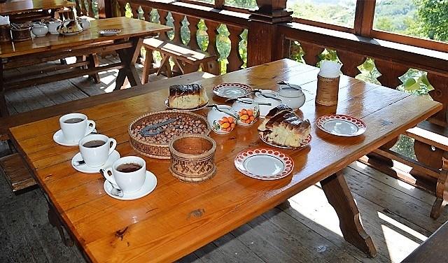 Чайные домики Сочи. Чаепитие