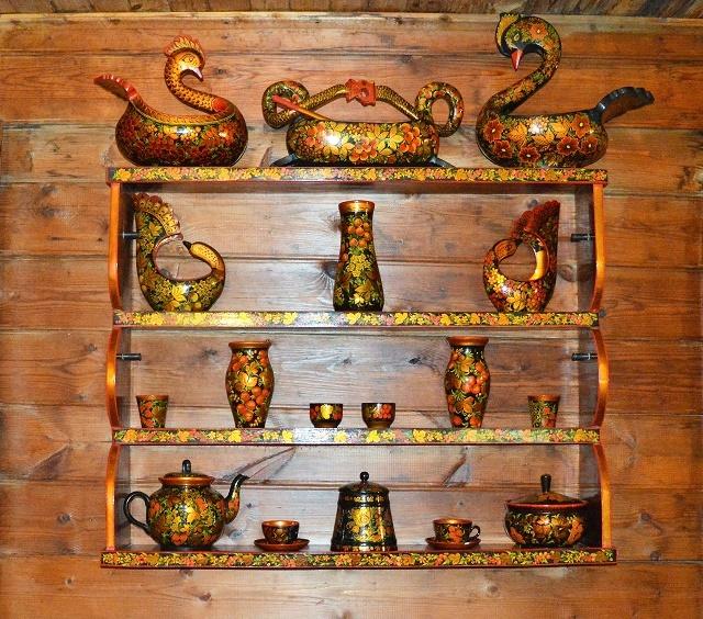 Чайные домики Сочи. Хохлома1