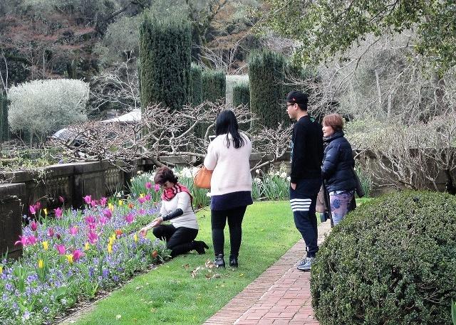 Сады Филоли. Посетители