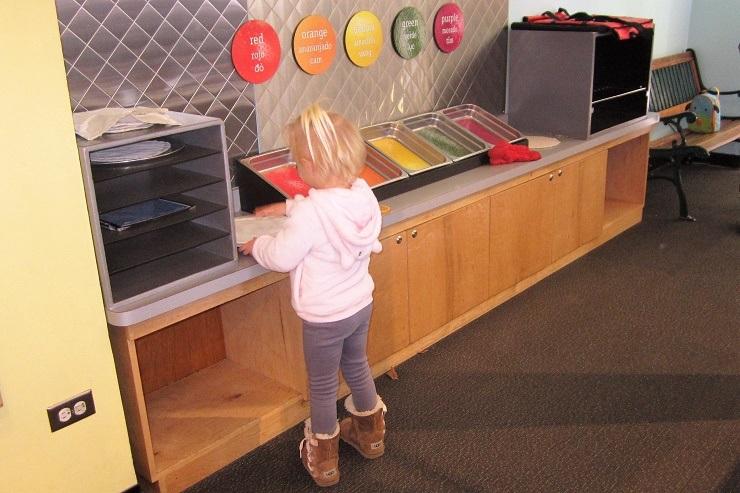 Детский музей в Сан-Хосе. Кафе