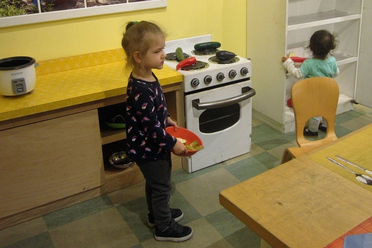 Детский музей в Сан-Хосе. Кухня