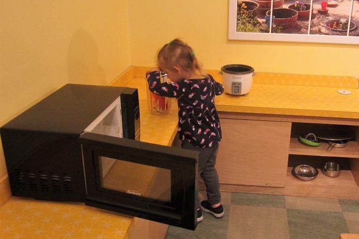 Детский музей в Сан-Хосе. Кухня1