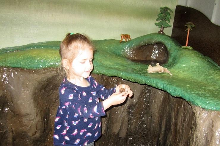 Детский музей в Сан-Хосе. Зона мамонтов3