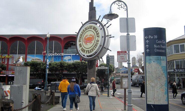 Сан-Франциско. Рыбацкий причал