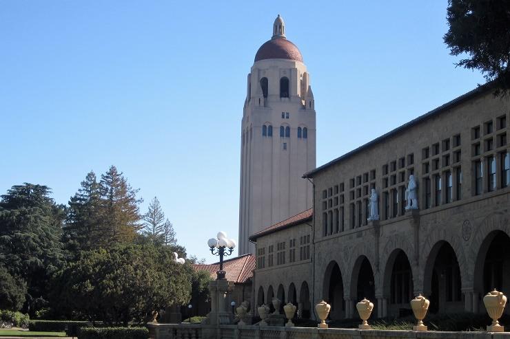 Стэнфорд. Башня Гувера