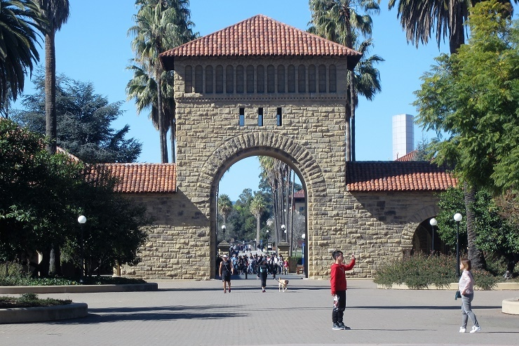 Стэнфорд. Экскурсия