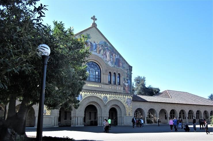 Стэнфорд. Церковь