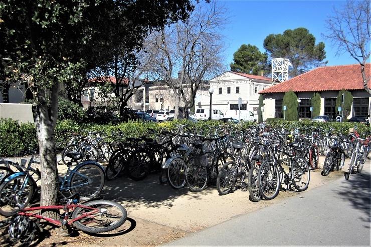 Стэнфорд. Велосипеды
