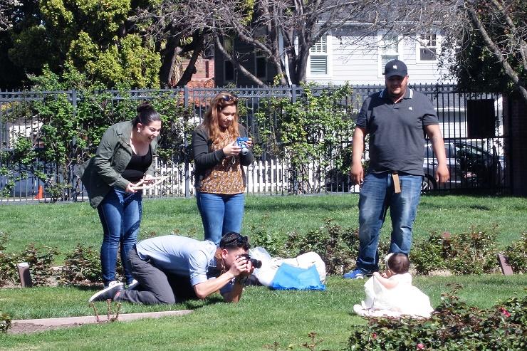 Выпускной в Калифорнии. Municipal Rose Garden11
