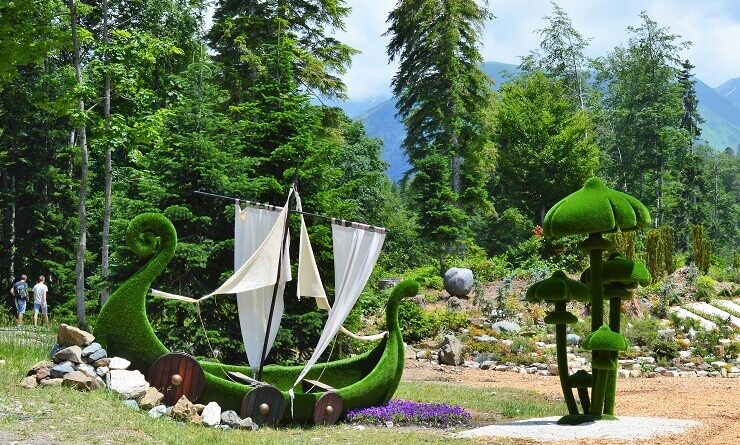 Парк Зеленая Планета3