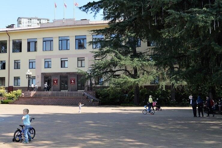Улица Навагинская в Сочи1