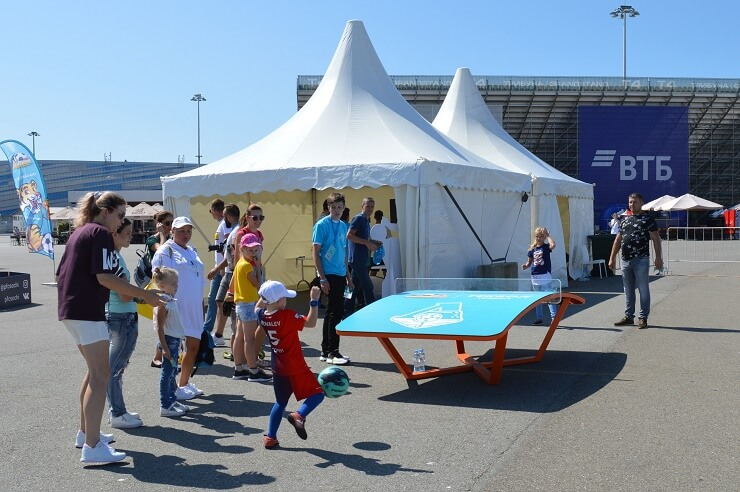 Фестиваль Мир футбола в Сочи2