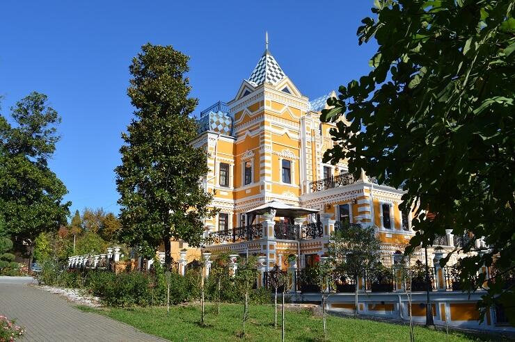 Реконструированный дом Хлудова