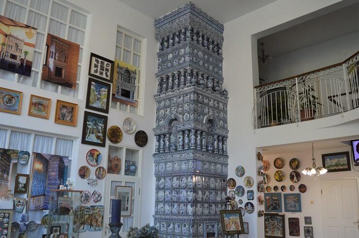 Самая высокая в России печь в сочинском Музее керамики