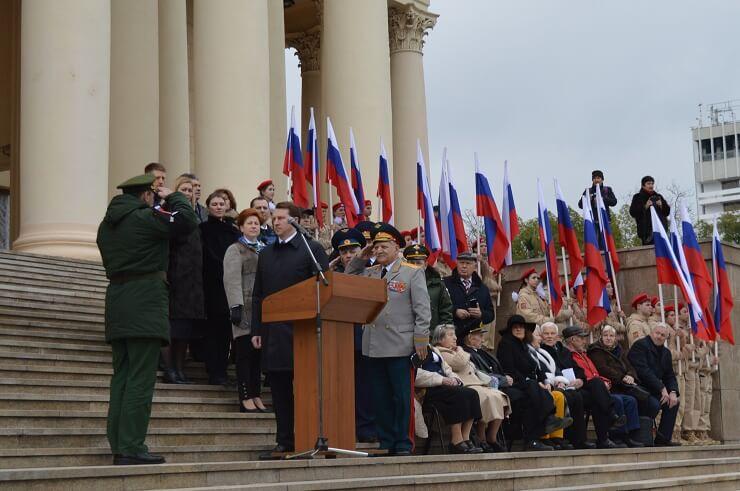 Глава города Сочи на открытии конкурса по военно-патриотическому воспитанию