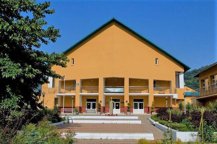Школа в ауле Большой Кичмай