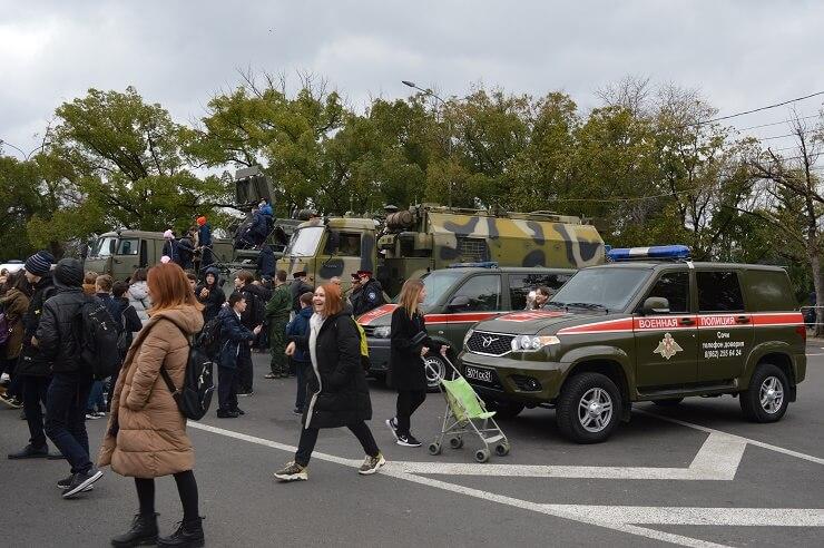 Выставка военной техники в Сочи