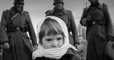 Маленькая девочка и фашисты