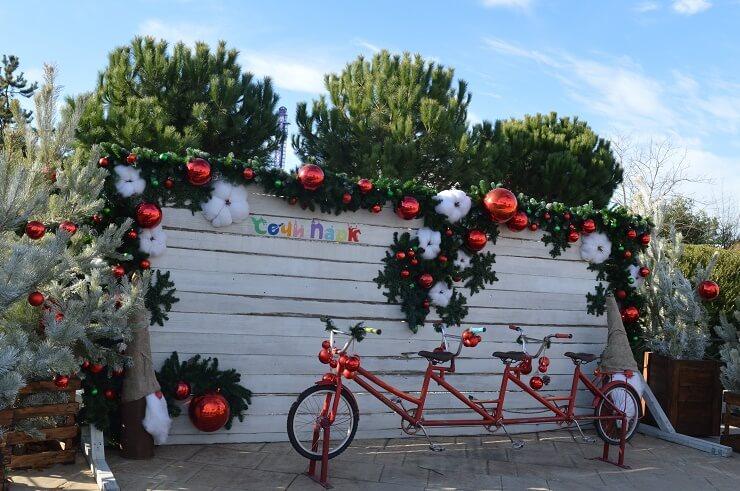 Фотозона: Велосипед для всей семьи
