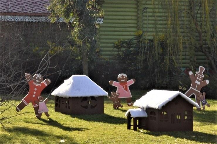 Пряничные человечки в Сочи Парке