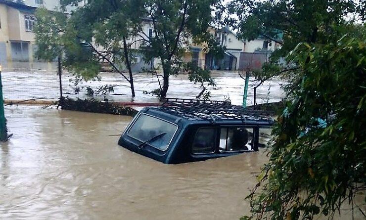 Наводнение в Адлерском Чайсовхозе