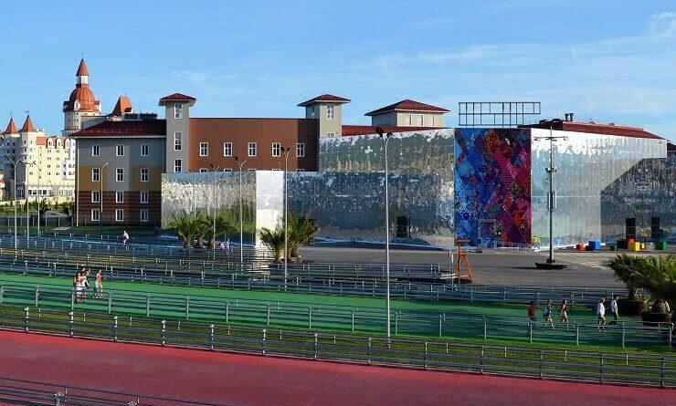 Олимпийский парк после Олимпийских игр в Сочи
