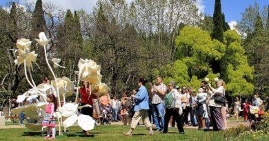 Второй международный Фестиваль цветов в Сочи