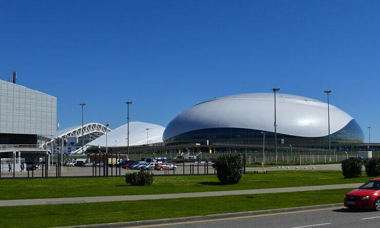 Олимпийский парк. Спортивные объекты