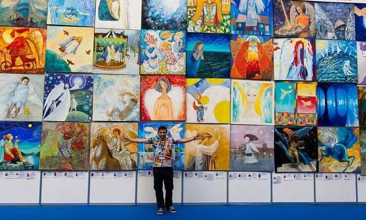 PR-директор выставки Ангелы Мира Олег Ровда