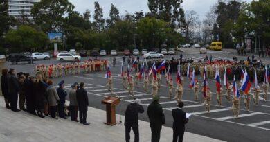 Открытие конкурса по военно-патриотическому воспитанию