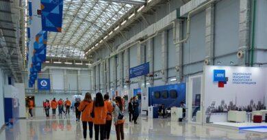 Выставочная экспозиция Международного строительного чемпионата в Сочи